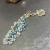topaz, aquamarine, 14kgf, bracelet, bohemian, bride, fashionista