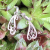 Earrings Argentium Silver Fine Silver Silversmith Jewelry